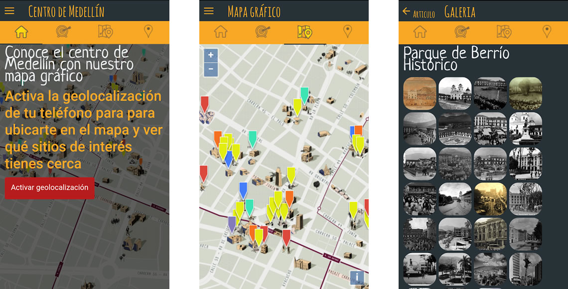 Centro de Medellín - App